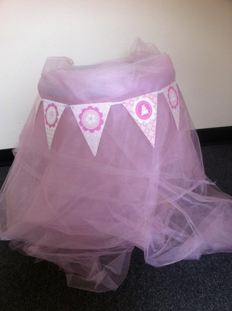 pink cake mod party kits