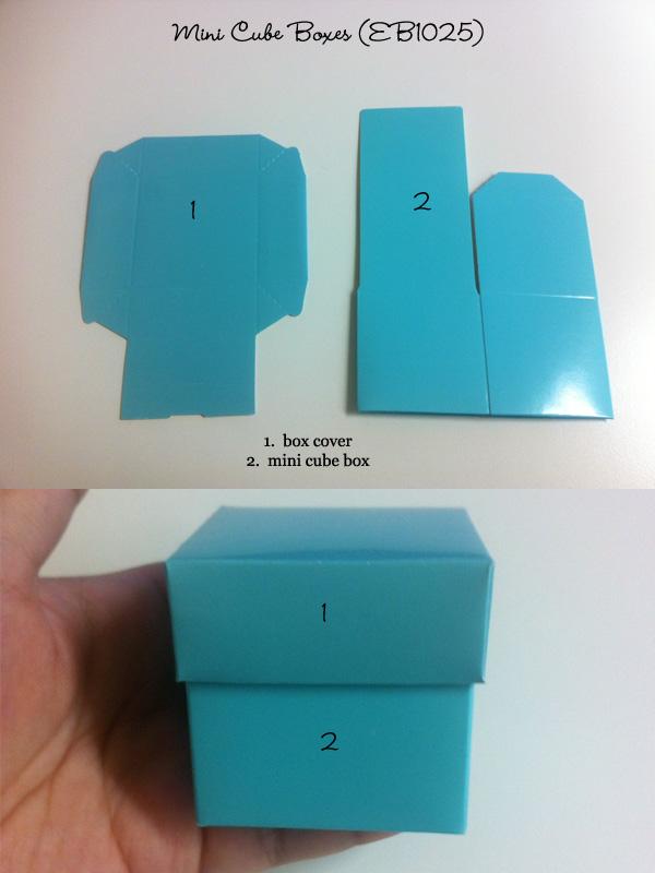 Mini Cube Boxes
