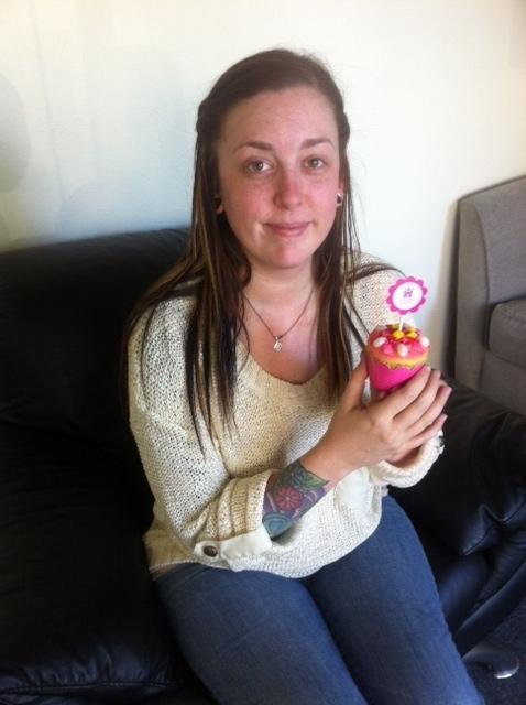 Christina, the Cupcake Decorating Master!