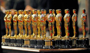 The many Oscars won for The Lord of the Rings trilogy. DEAN TREML/AFP/Getty Images