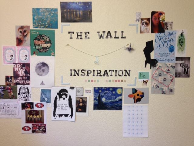 event blossom wall of inspiration