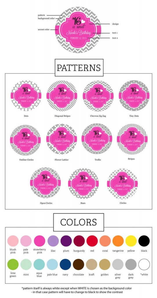 RoundSweet16ColorsPatterns